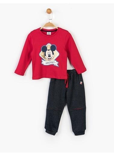 Mickey Mouse 3 lü Takım Lacivert